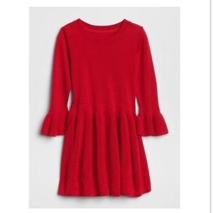 🍁🍂NWT Modern Red fit and flare sweater dress